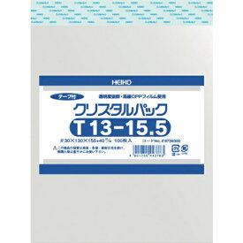 シモジマ SHIMOJIMA HEIKO OPP袋 テープ付き クリスタルパック T13−15.5