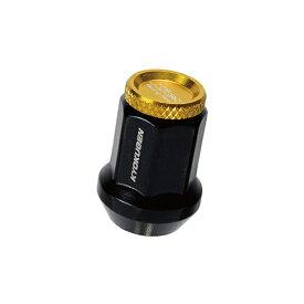 協永産業 KYO-EI Industrial HP3KA 極限ナット アルミキャップ付き M12XP1.25 20P 金色
