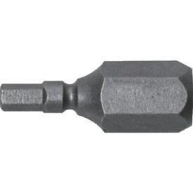 兼古製作所 アネックス 溝付超短六角レンチビット1本組 対辺2.5×19