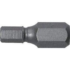 兼古製作所 アネックス 溝付超短六角レンチビット1本組 対辺4×19