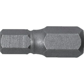 兼古製作所 アネックス 溝付超短六角レンチビット1本組 対辺5×19
