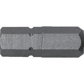 兼古製作所 アネックス 溝付超短六角レンチビット1本組 対辺6×19