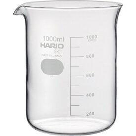 ハリオサイエンス HARIO SCIENCE HARIO ビーカー 目安目盛付 1000ml