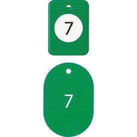 オープン工業 OPEN INDUSTRIES OP クロークチケット 1〜20番 緑 (20組入)