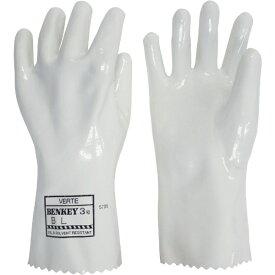ミドリ安全 MIDORI ANZEN ミドリ安全 耐薬品用手袋 ベンケイ3号B Lサイズ