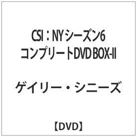 角川映画 KADOKAWA CSI:NY シーズン6 コンプリートDVD BOX-II 【DVD】