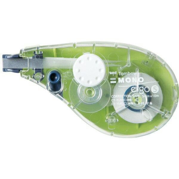 トンボ鉛筆 Tombow 修正テープモノエルゴ5C61グリーン