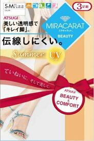 アツギ ATSUGI ミラキャラット BEAUTY サマー M-L FP15503P-ML-357 スキニーベージュ