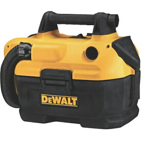デウォルト DEWALT デウォルト 18V充電式乾湿両用集塵機 本体のみ