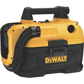 デウォルト DEWALT デウォルト 18V充電式乾湿両用集塵機 電池1個付
