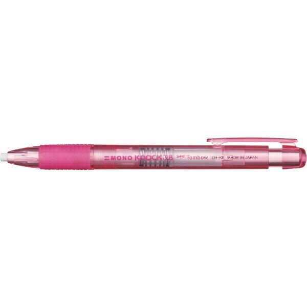 トンボ鉛筆 Tombow ホルダー消しゴムモノ3.8透明ピンク