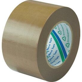 リンレイテープ Rinrei Tape リンレイテープ 包装用PEワリフテープ EF671 75×50 茶色