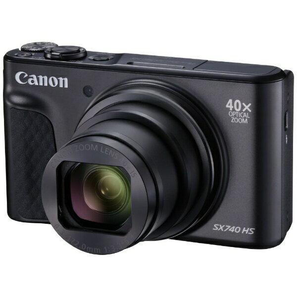 【送料無料】 キヤノン CANON コンパクトデジタルカメラ PowerShot(パワーショット) SX740 HS(ブラック)