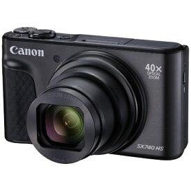 キヤノン CANON コンパクトデジタルカメラ PowerShot(パワーショット) SX740 HS(ブラック) PSSX740HSBK ブラック[PSSX740HSBK]