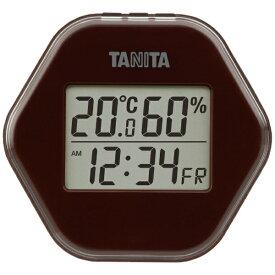 タニタ TANITA TT-573 温湿度計 ブラウン [デジタル][TT573BR]