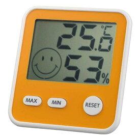 エンペックス EMPEX INSTRUMENTS TD-8414 温湿度計 おうちルーム イエロー [デジタル][TD8414]