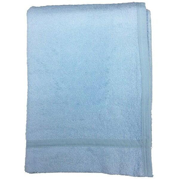 生毛工房 無地カラータオルケット(シングルサイズ/140×190cm/ブルー)