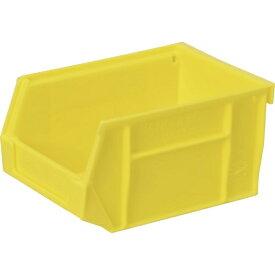 DICプラスチック ディーアイシープラスチック DIC HB型コンテナ HB−1 外寸:W250XD105XH80 黄