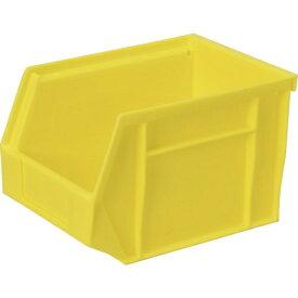 DICプラスチック ディーアイシープラスチック DIC HB型コンテナ HB−2 外寸:W200XD140XH130 黄