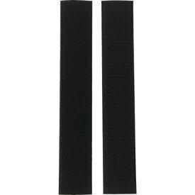 ユタカメイク YUTAKA ユタカメイク マジックテープ アイロンワンタッチ 25mm×15cm ブラック