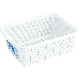 リス RISU リス キッチンバスケットDSホワイト