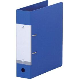 リヒトラブ LIHIT LAB. リヒト A4/S D型リングファイル(650枚) 青