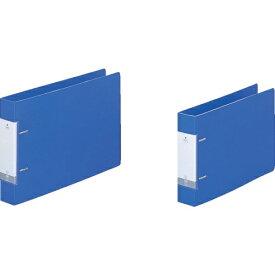 リヒトラブ LIHIT LAB. リヒト A4/E D型リングファイル(350枚) 青