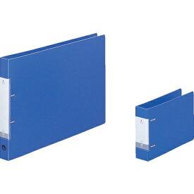 リヒトラブ LIHIT LAB. リヒト A3/E D型リングファイル(230枚) 青