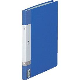 リヒトラブ LIHIT LAB. リヒト B5/S クリヤーブック(20枚) 青