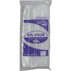 生産日本社 SEISANNIPPONSHA セイニチ 「ユニパックGP」L−4 ヨコ長 340×480×0.04 100枚