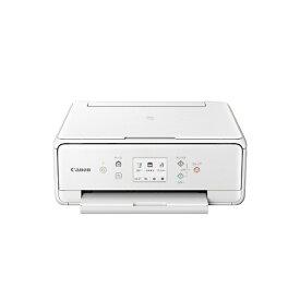 キヤノン CANON PIXUSTS6230WH インクジェット複合機 PIXUS(ピクサス) ホワイト [カード/名刺〜A4][PIXUSTS6230WH]【プリンタ】
