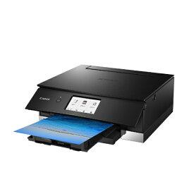 キヤノン CANON PIXUSTS8230BK インクジェット複合機 PIXUS(ピクサス) ブラック [カード/名刺〜A4][PIXUSTS8230BK]【プリンタ】