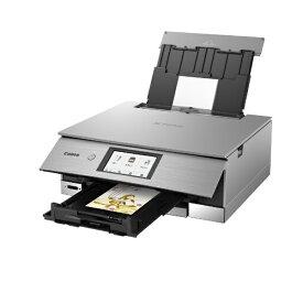 キヤノン CANON XK80 インクジェット複合機 PIXUS(ピクサス) メタリックシルバー [カード/名刺〜A4][PIXUSXK80]【プリンタ】