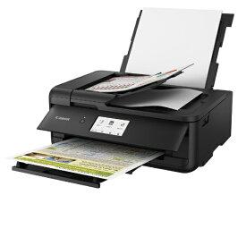 キヤノン CANON TR9530BK インクジェット複合機 ブラック [カード/名刺〜A3][ハガキ 年賀状 印刷 プリンタ TR9530BK 5色]