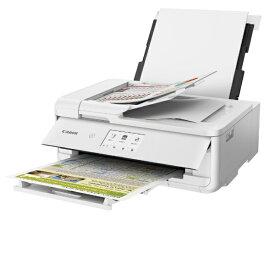キヤノン CANON TR9530WH インクジェット複合機 ホワイト [カード/名刺〜A3][ハガキ 年賀状 印刷 プリンタ TR9530WH]