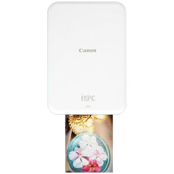 キヤノン CANON PV-123 モバイルフォトプリンター iNSPiC ピンク [スマートフォン専用][PV123SP]【プリンタ】