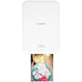 キヤノン CANON モバイルフォトプリンター iNSPiC ピンク PV-123 [スマートフォン専用 /カードサイズ][PV123SP]【プリンタ】