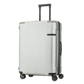 サムソナイト Samsonite スーツケース 82L Evoa(エヴォア) ブラッシュトシルバー DC0-07004 [TSAロック搭載][スーツケース]
