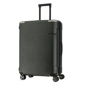 サムソナイト Samsonite スーツケース 82L Evoa(エヴォア) ブラッシュトブラック DC0-89004 [TSAロック搭載]