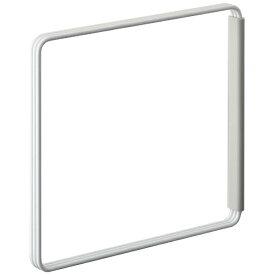 山崎実業 Yamazaki プレート 折り畳み布巾ハンガー ホワイト(Folding Dishcloth Hanger Plate WH) 07979 ホワイト[7979]