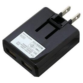 バウト BAUT [Type-C] ケーブル付属ケーブル一体型AC充電器3.4A 1.0m BK
