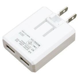 バウト BAUT [Type-C] ケーブル付属ケーブル一体型AC充電器3.4A 1.0m WH