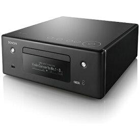 デノン Denon ネットワークCDレシーバー デノン ブラック RCD-N10K [ワイドFM対応][RCDN10K]