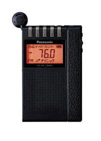 パナソニック Panasonic ポータブルラジオ RF-ND380RK ブラック [AM/FM][RFND380RK]