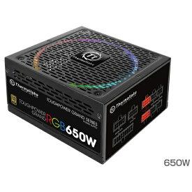 THERMALTAKE サーマルテイク 650W PC電源 TOUGHPOWER GRAND RGB GOLDシリーズ PS-TPG-0650FPCGJP-R [ATX/EPS /Gold]
