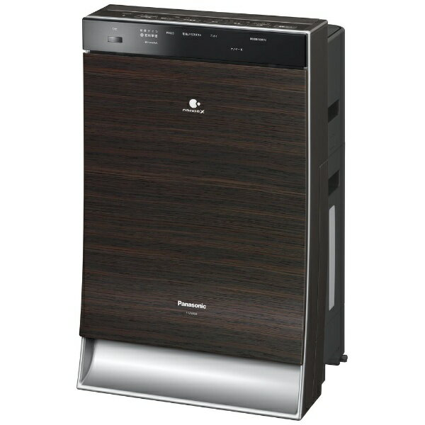 パナソニック Panasonic F-VXR90-TM 加湿空気清浄機 木目調 [適用畳数:40畳 /最大適用畳数(加湿):24畳][FVXR90]