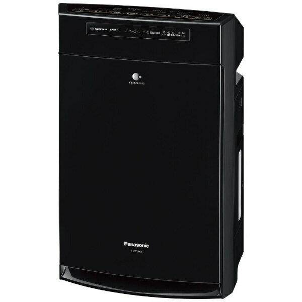 パナソニック Panasonic F-VC55XR-K 加湿空気清浄機 ブラック [適用畳数:25畳 /最大適用畳数(加湿):14畳][FVC55XR]