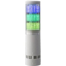 パトライト PATLITE パトライト LA6型積層情報表示灯Φ60 直付け・端子台・ブザーあり