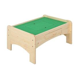 充英アート Jueiart 天然木プレイテーブル (幅90×奥行71×高さ45cm) JJ-90PTN ナチュラル