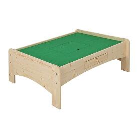 充英アート Jueiart 天然木プレイテーブル (幅120×奥行91.6×高さ45cm) JJ-120PTN ナチュラル